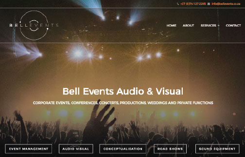 Bell Events Audio Visual Stellenbosch