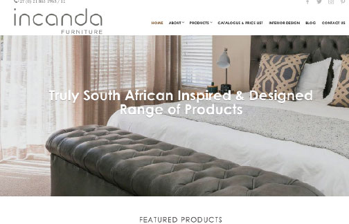 Incanda Furniture Cape Town