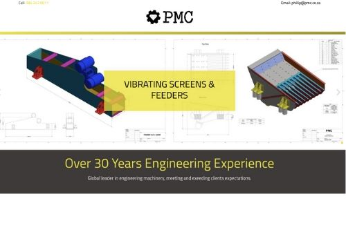 Vibrating Screens & Feeders - PMC